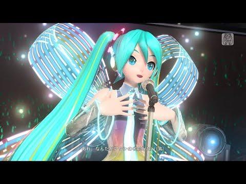 Hatsune Miku Project Diva Future Tone DX trailer (PS4)