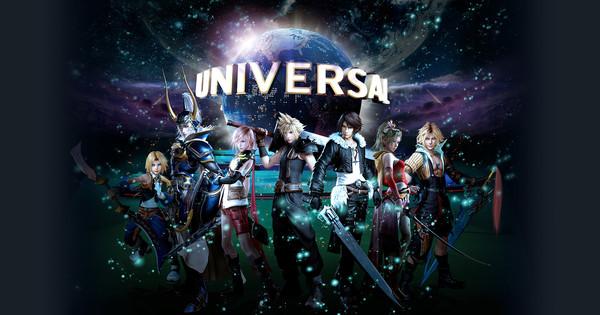 Final Fantasy Gets Its 1st Ever Roller Coaster at USJ