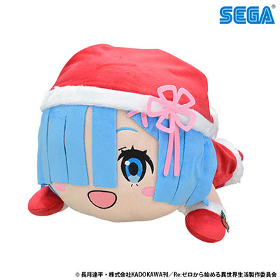 Re:ZERO -Starting Life in Another World- Nesoberi Plush: Rem -Santa LL