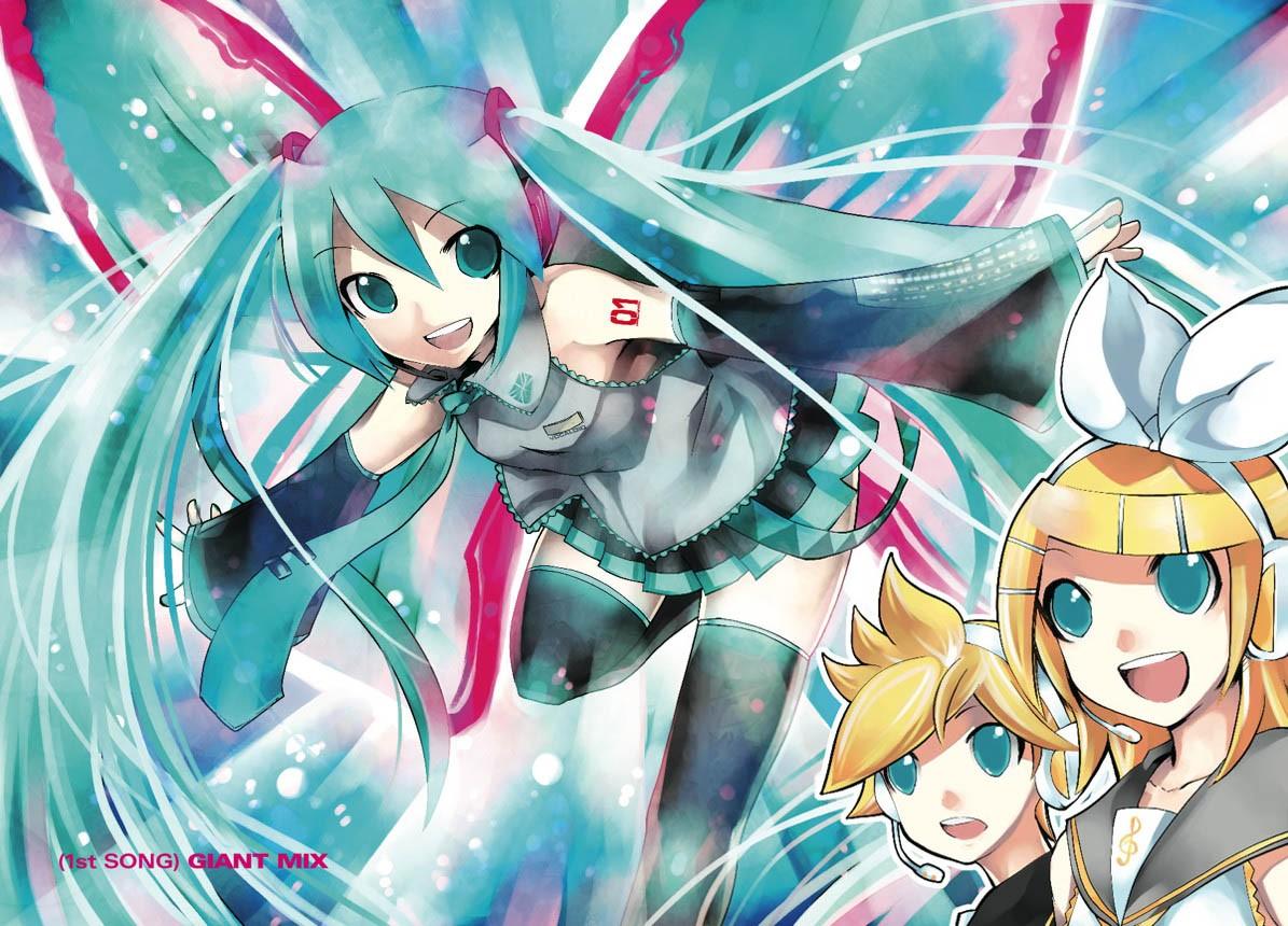 """""""Unofficial Hatsune Mix"""" Manga"""