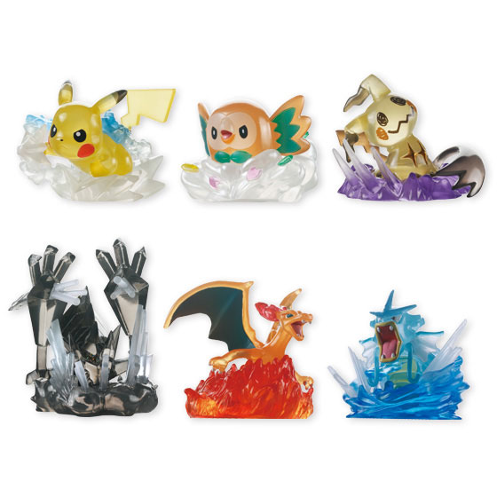 Pokemon - Hissatsu! Kimewaza Pokemotion 10Pack BOX (CANDY TOY)