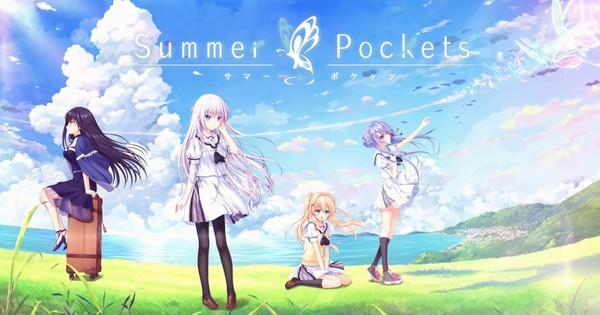 """Keys """"Summer Pockets"""" spil afslører 29 juni udgivelse, antyder anime"""