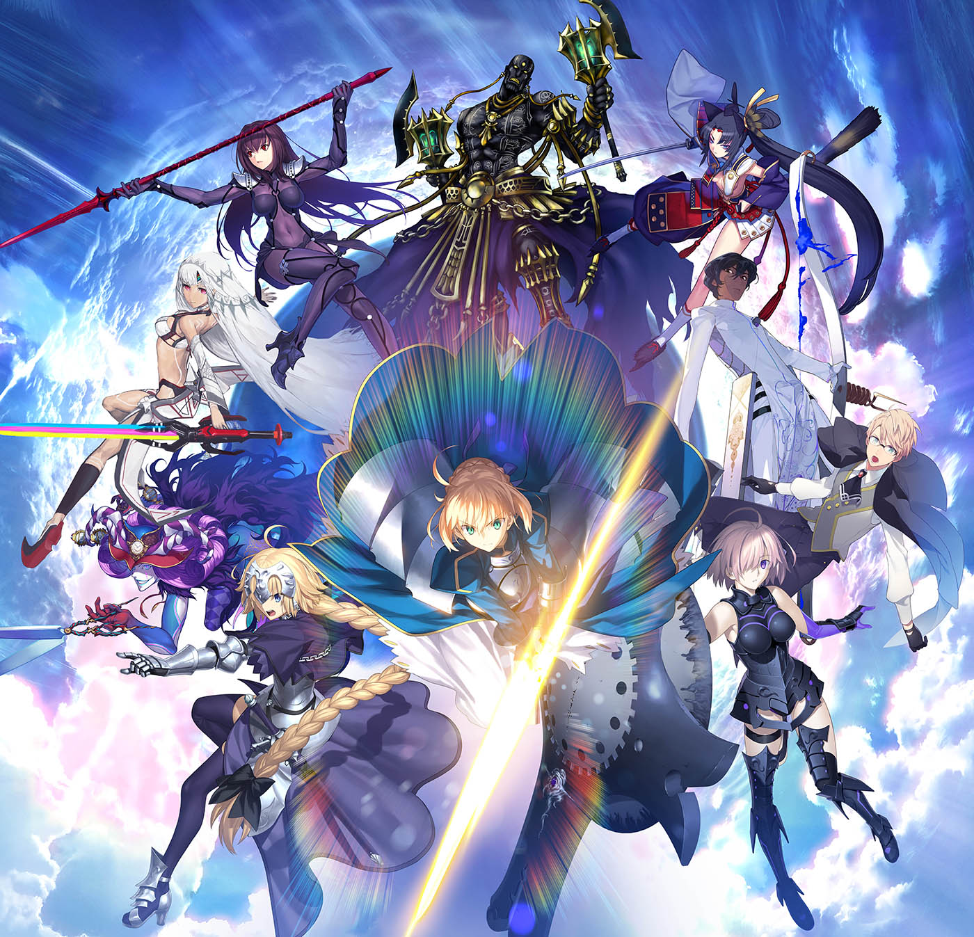 1. Fate/Grand Order