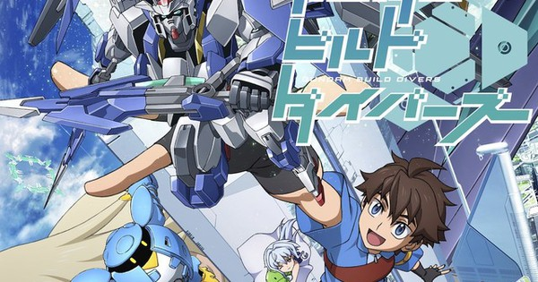 "Sunrise afslører ""Gundam Build Divers"" TV anime til forårspremiere"