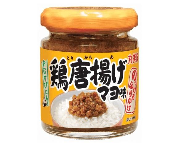 Stegt kylling-smag ris smørepålæg vil kunne købes i Japan til at dække ens 'karaage' cravings