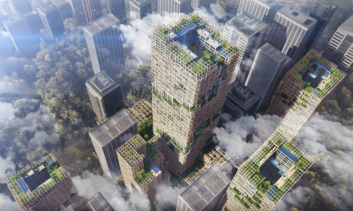 Tokyo vil bygge 350m tårn lavet af træ