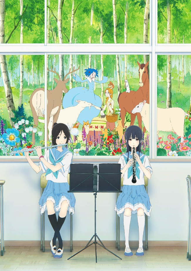 Sound! Euphonium 'Liz to Aotori' film trailer