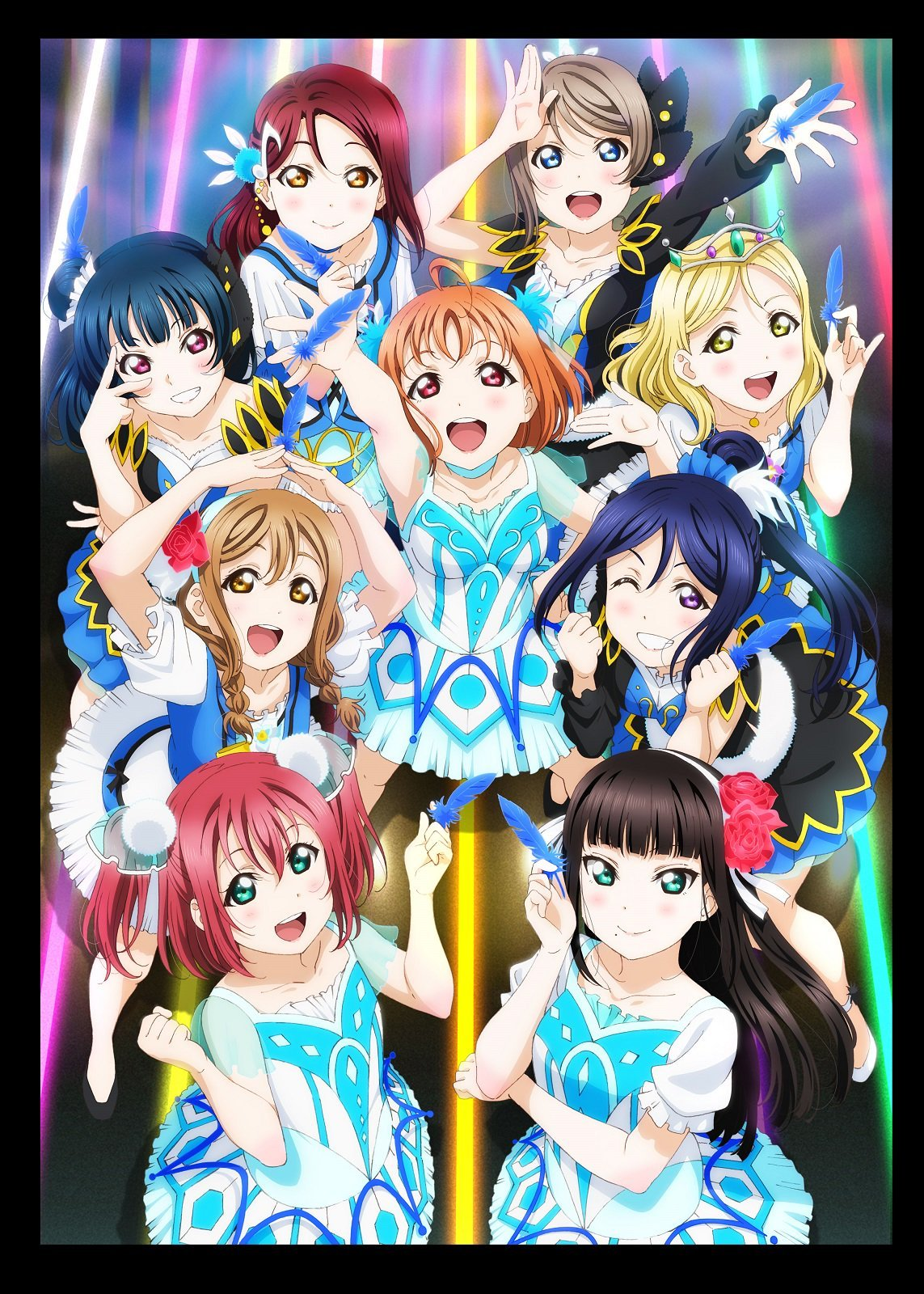"""Aqours 3rd LoveLive! Tour ~WONDERFUL STORIES~"" nøgle billede"