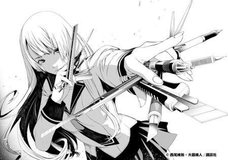 Air Gear, Tenjou Tenge mangaka 'Oh! great' afsløret som Bakemonogatari manga tegner