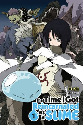 That Time I Got Reincarnated as a Slime light novels kommer som TV anime til efteråret