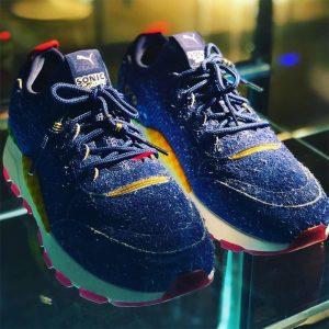 Pumas ny Sonic the Hedgehog sneakers