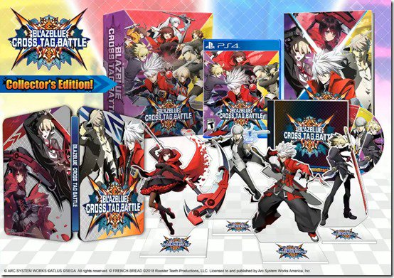 BlazBlue: Cross Tag kampspil engelsk-sprog trailer og Collector's Edition