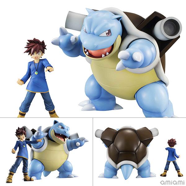 G.E.M. Series - Pokemon: Gary & Blastoise figure