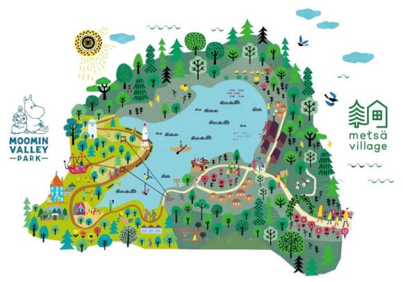 Anden Mumi forlystelsespark i Japan annoncerer sin åbning