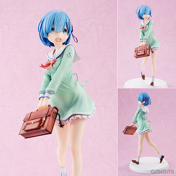 Re:ZERO -Starting Life in Another World- Rem High School Uniform Ver. 1/7 Figur