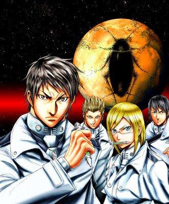 Terra Formars manga begynder igen den 26. april efter årslang pause