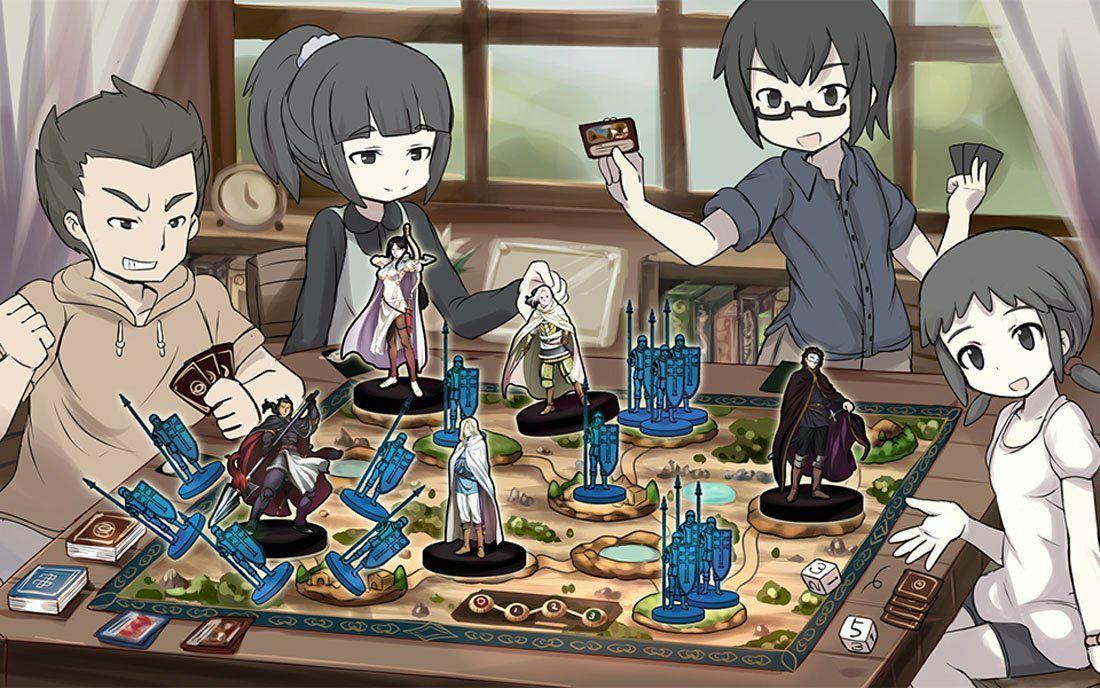Anime Kita - Lørdag 12 maj - Brætspilsaftenen