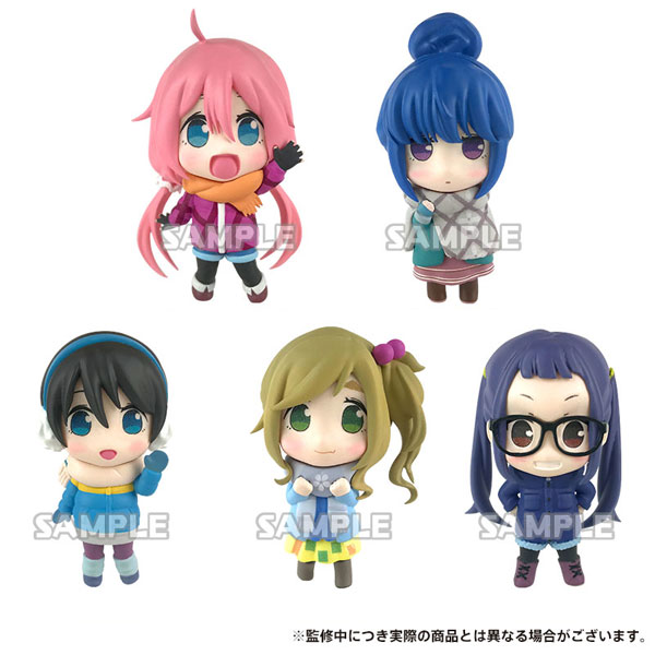 Yurucamp - Collection Figure 6Pack BOX