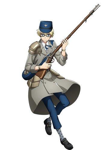 Sanjuushi: The Thousand Nobel Musketeers laver skydevåben til smukke fyre