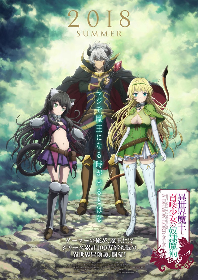 How NOT to Summon A Demon Lord anime 5. juli premiere og mere info