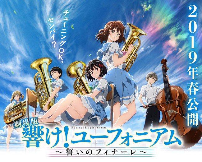 Sound! Euphonium Chikai no Finale anime film får premiere til foråret 2019
