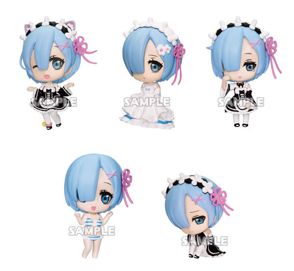 Re:ZERO -Starting Life in Another World- Rem ga Ippai Collection Figure vol.2 6Pack BOX