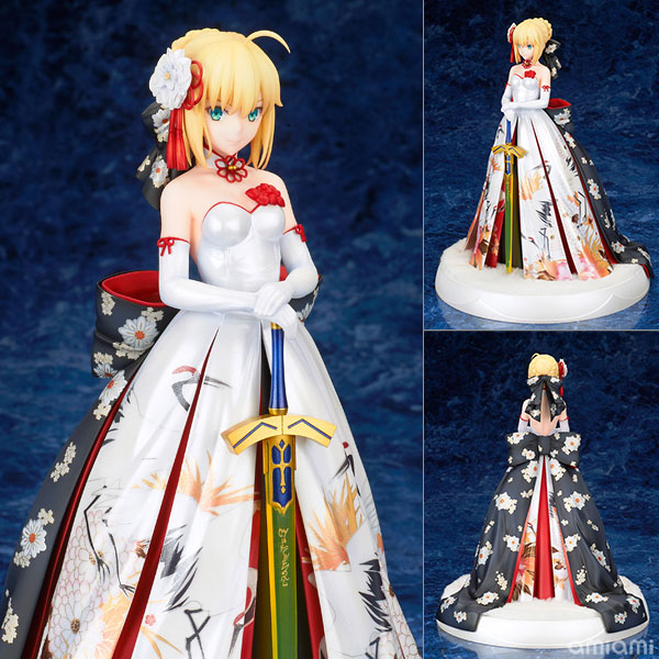 Fate/stay night - Saber Kimono Dress Ver. 1/7 Figur