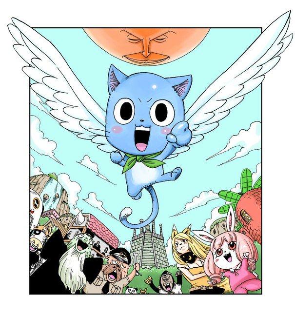 Kenshiro Sakamoto laver Fairy Tail Spinoff Manga om Happy