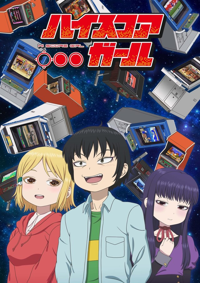 Hi Score Girl TV Anime Trailer