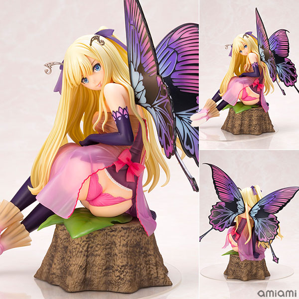 4-Leaves Tony's Heroine Collection Hydrangea Macrophylla no Yousei Anabelle 1/6 Figur