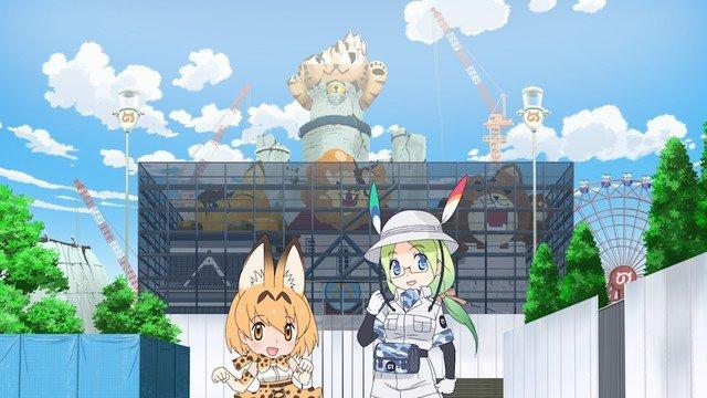 Kemono Friends' 'Yōkoso Japari Park' kort historie serie begynder den 12 august