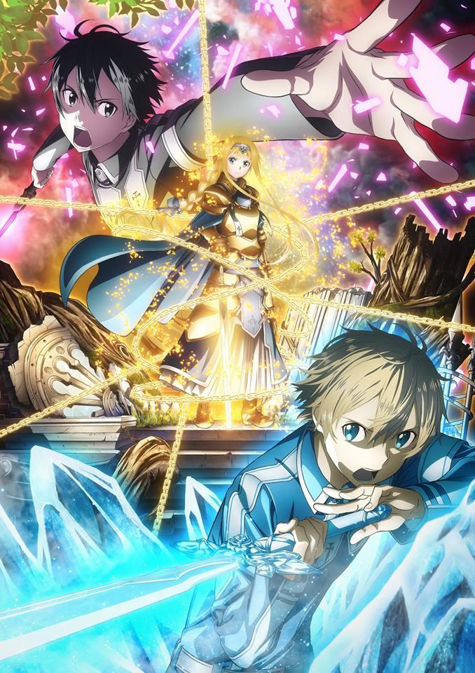 Sword Art Online: Alicization anime trailere og billede