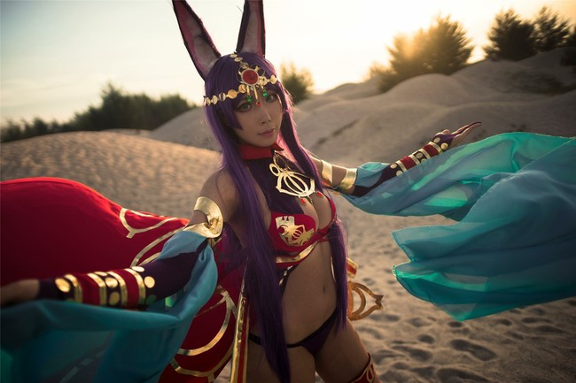 Caster of Midrash, Queen of Sheba (Fate/Grand Order) cosplay