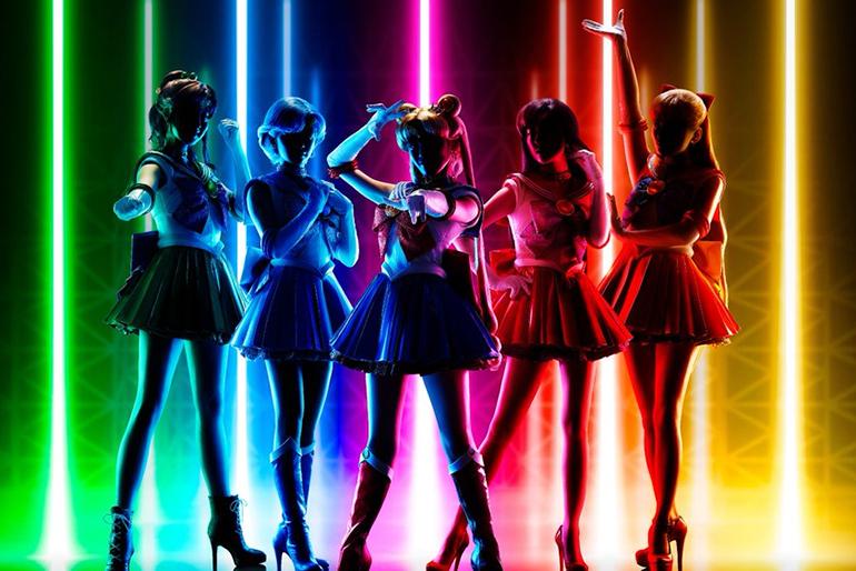 """Sailor Moon """"Super Live"""" optræden"""