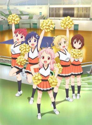 Anima Yell! cheerleading anime begynder 7 oktober
