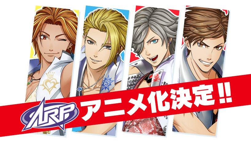 ARP augmented reality idol gruppe får anime