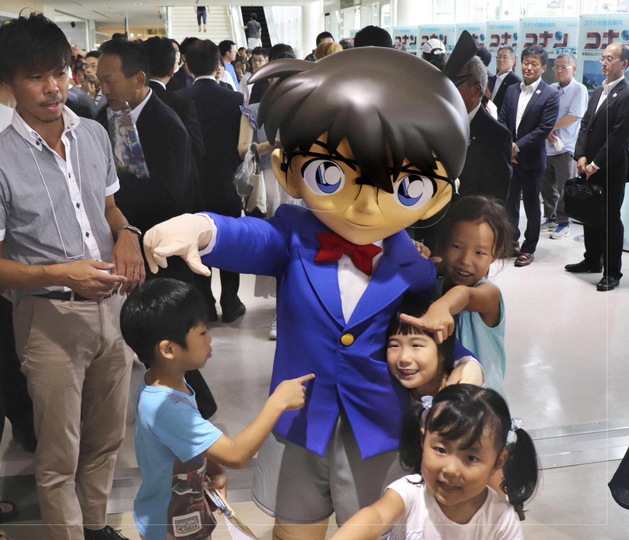 Tottori lufthavn øger deres Detective Conan tema