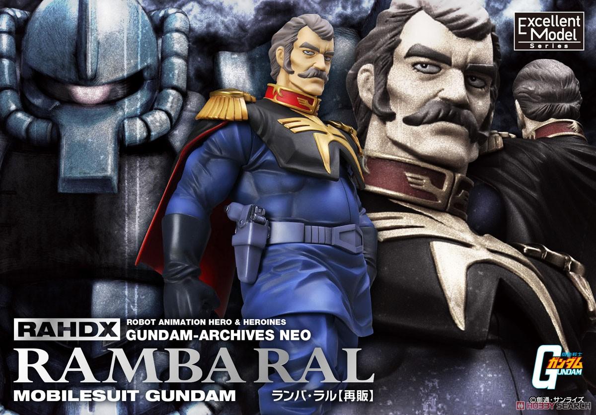 Mobile Suit Gundam - Excellent Model RAHDXG.A.NEO Ramba Ral 1/8 Figur