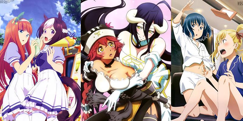 Top 10 anime fra første del af 2018 ifølge AT-X