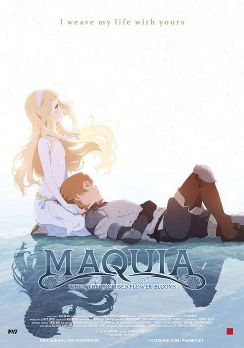 Næste anime film i de danske biografer: Maquia : When the Promised Flower Blooms