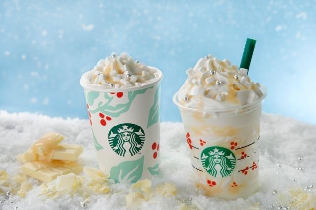 Starbucks Japan får White Chocolate Snow Frappuccino til Jul