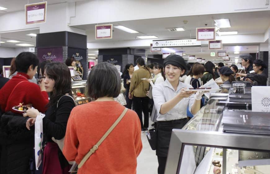 De fleste japanske kvinder køber Valentins chokolade til sig selv