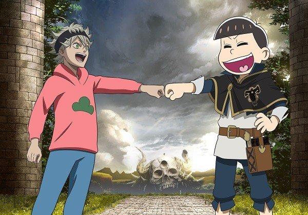 Osomatsu-San sekslingerne er med i Black Clover anime afsnit 76