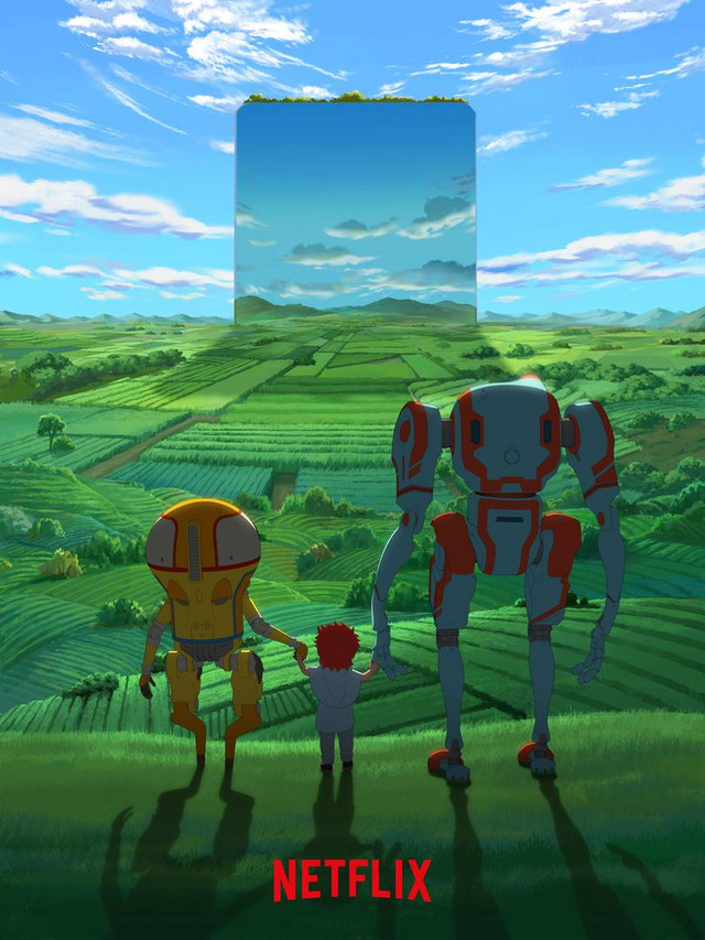 Eden er en kommende original Netflix anime