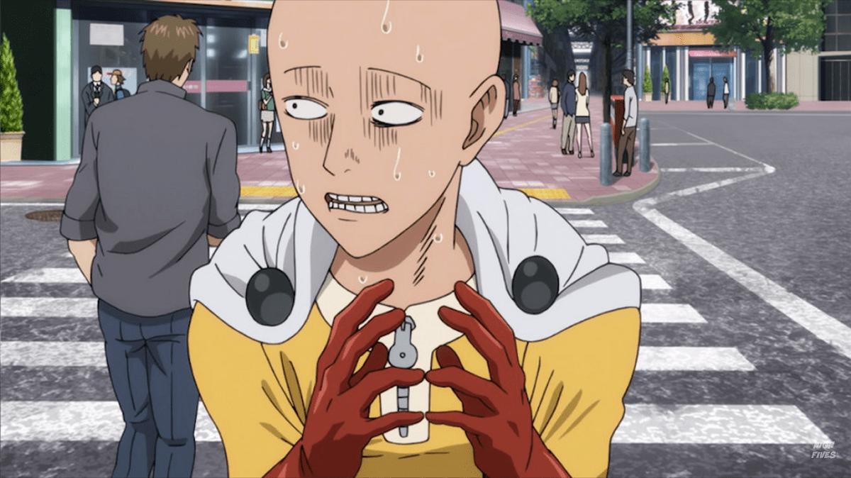 1. Saitama (One Punch Man)