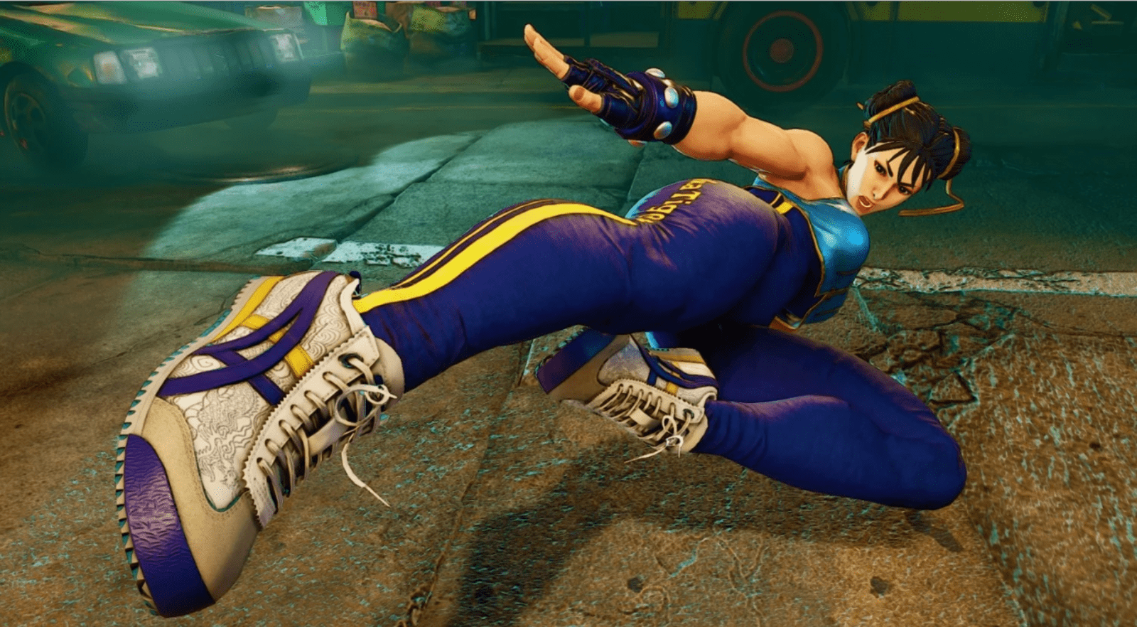 Chun-Li (Street Fighter) sko