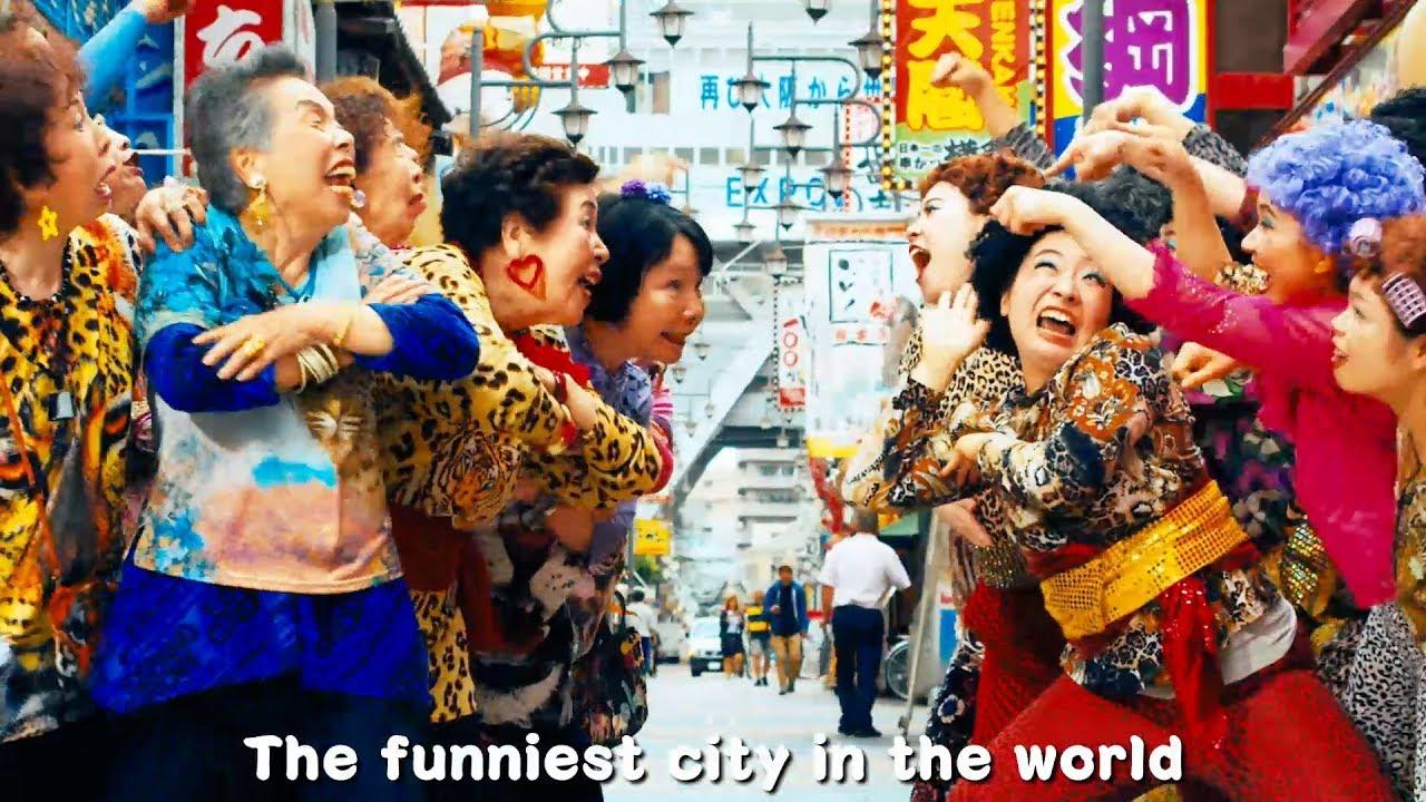 Bedstemødre i Osaka udgiver rap musikvideo