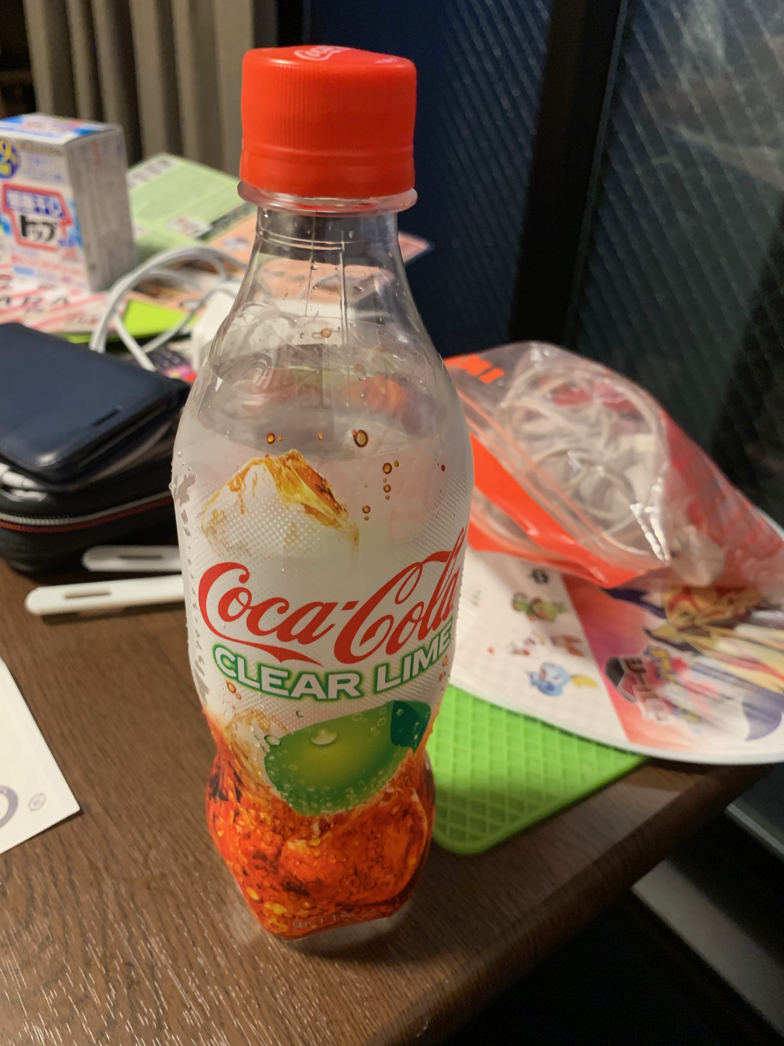 Coca Cola Clear Lime anmeldelse