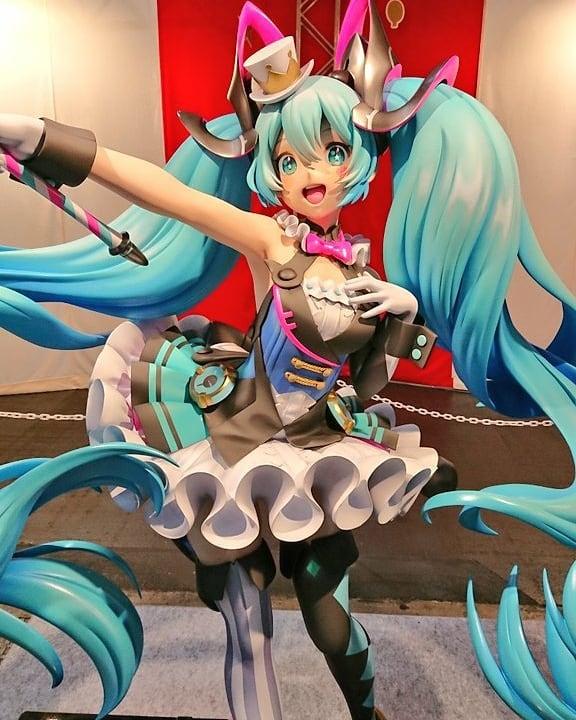1/1 Miku statue fra Magical Mirai 2019