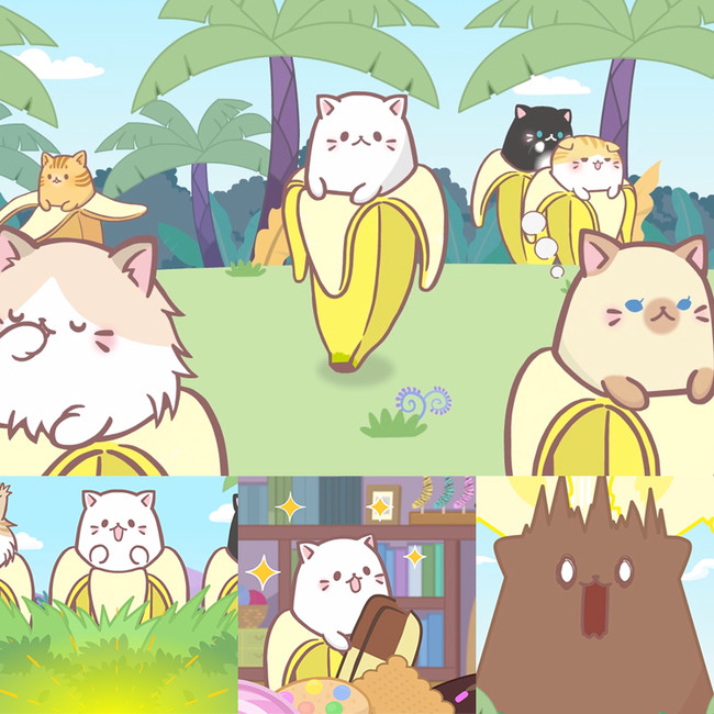 Bananya sæson 2 anime kommer til oktober